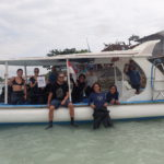 www.volunteereco.org diving team of the Indonesia marine conservation project